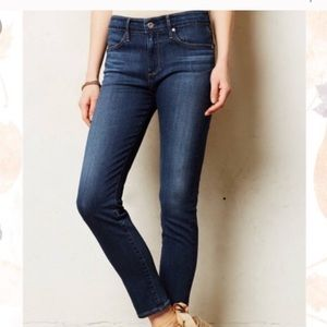 AG Jeans The Stevie Slim Straight Jeans Size 27R